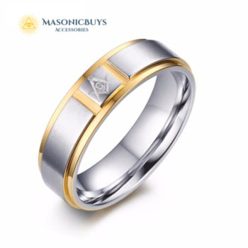 Unique Masonic Ring For Freemasons