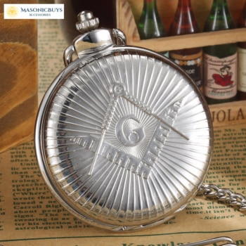 Buy Vintage Silver Masonic Pocket Watch For Freemasons online at affordale price with FREE shipping