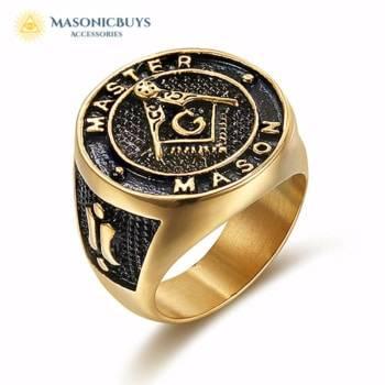 Master Mason Masonic Ring