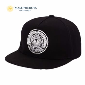 Masonic Cap / Hat With Freemason Symbol