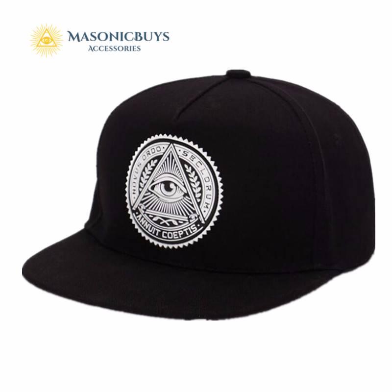 8e83b67ff8234 Masonic Cap   Hat With Freemason Symbol