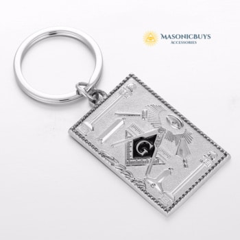 Buy Masonic Keychain, Square online at affordale price with FREE shipping