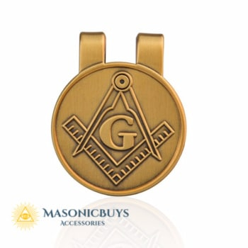 Masonic Money Clip & Credit Card Holder