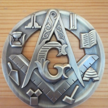Masonic Car Badge-Emblem