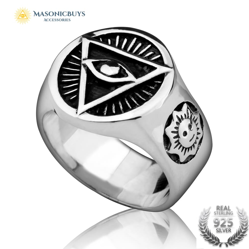 c192f7aeedcb2 925 Sterling Silver Masonic Rings - Foto Ring and Wallpaper