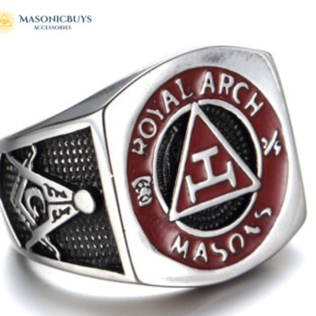"Buy Masonic Ring ""Royal Arch Masons"" online at affordale price with FREE shipping"