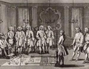 Freemasons in 18th century