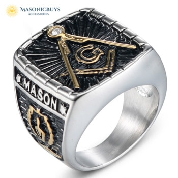 Big Master Mason Masonic Ring