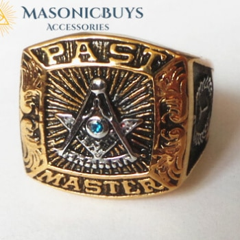 Buy Past Master Masonic Ring online at affordale price with FREE shipping