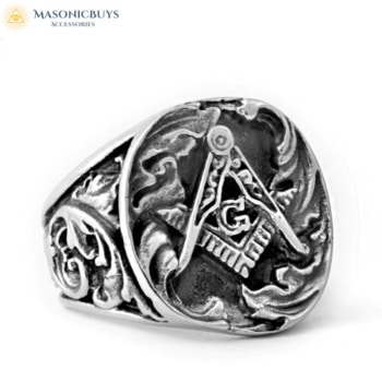 Antique Robustious Masonic Ring