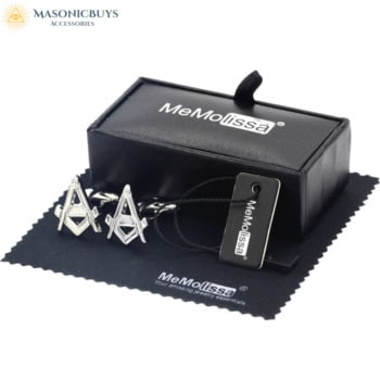 Masonic Cufflinks With Gift Box