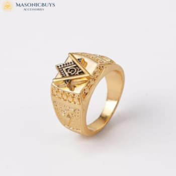 Outstanding Masonic Signet Ring