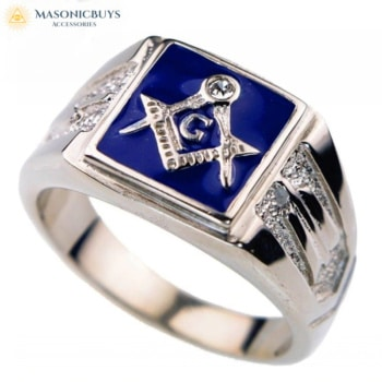 Buy Trendy Masonic Ring online at affordale price with FREE shipping