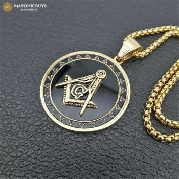 Cool Masonic Pendant Necklace