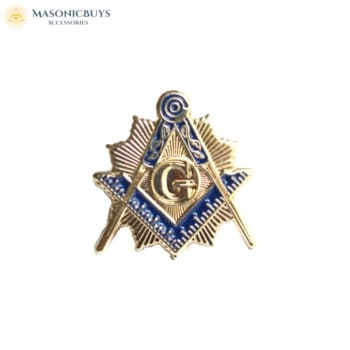 Buy 10 Masonic Lapel Pin Badges online at affordale price with FREE shipping