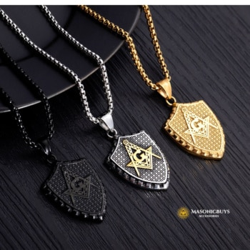 Buy Vintage Masonic Pendant Necklace online at affordale price with FREE shipping