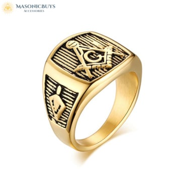 Ancient Masonic Ring