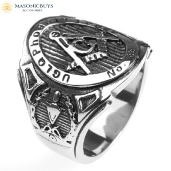 Phoenix Lodge No 85 UGLQ Masonic Ring