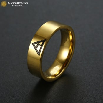 Masonic Scottish Rite 14th Degree Ring