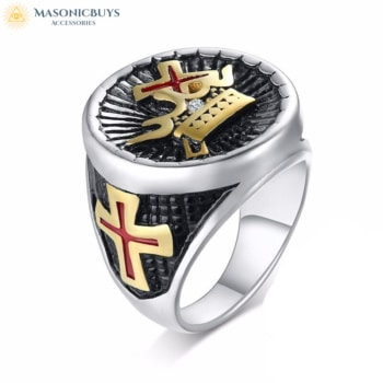 York Rite Masonic Ring