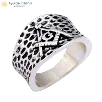 Buy Punk Style Masonic Ring online at affordale price with FREE shipping