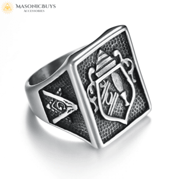 Buy Masonic Ring With Ancient Symbols online at affordale price with FREE shipping