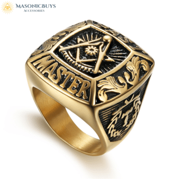 Buy Ancient Style Past Master Masonic Ring online at affordale price with FREE shipping